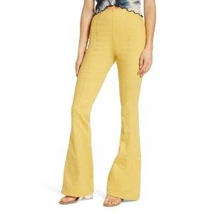 Band of Gypsies Loz Feliz flare high rise jeans